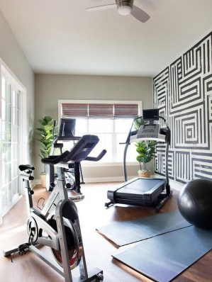 Astonishing Home Gym Room Design Ideas For Your Family 40