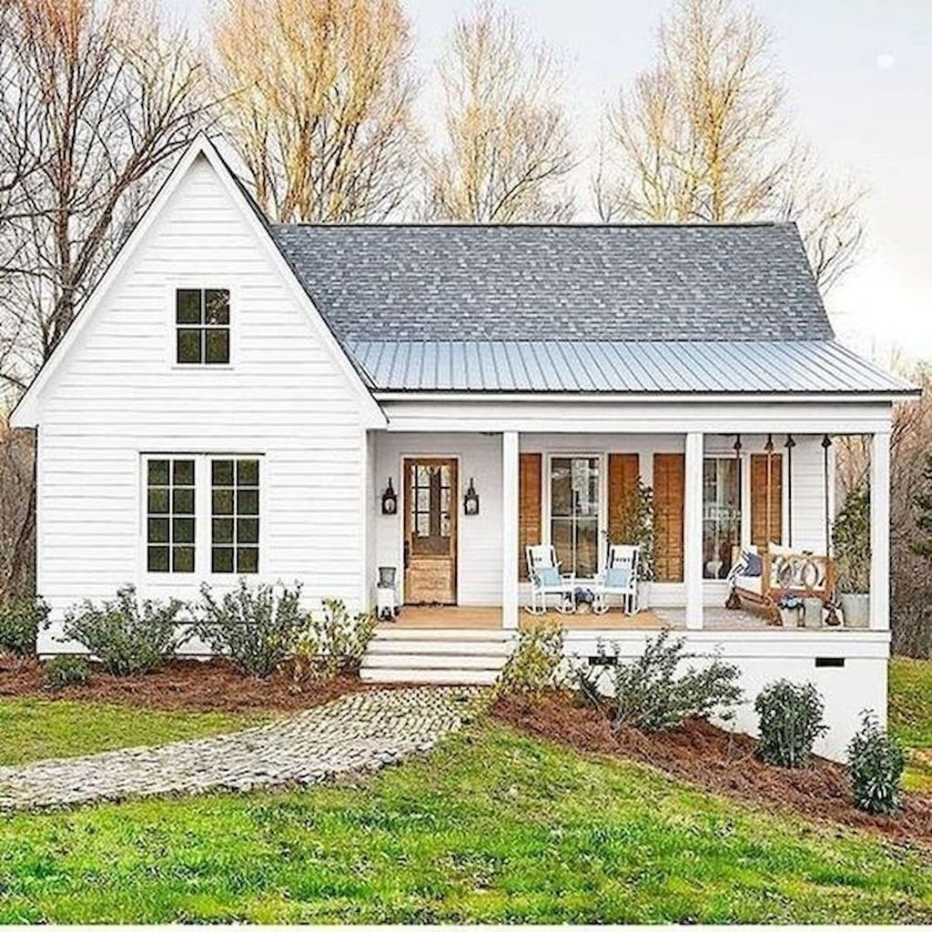 Exterior Small Home Design Ideas: 30+ Cute Farmhouse Exterior Design Ideas That Inspire You
