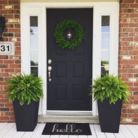 Perfect Porch Planter Design Idseas That Will Give Your Exterior A Unique Look 39