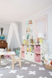 Pretty Playroom Design Ideas For Childrens 11