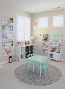 Pretty Playroom Design Ideas For Childrens 23
