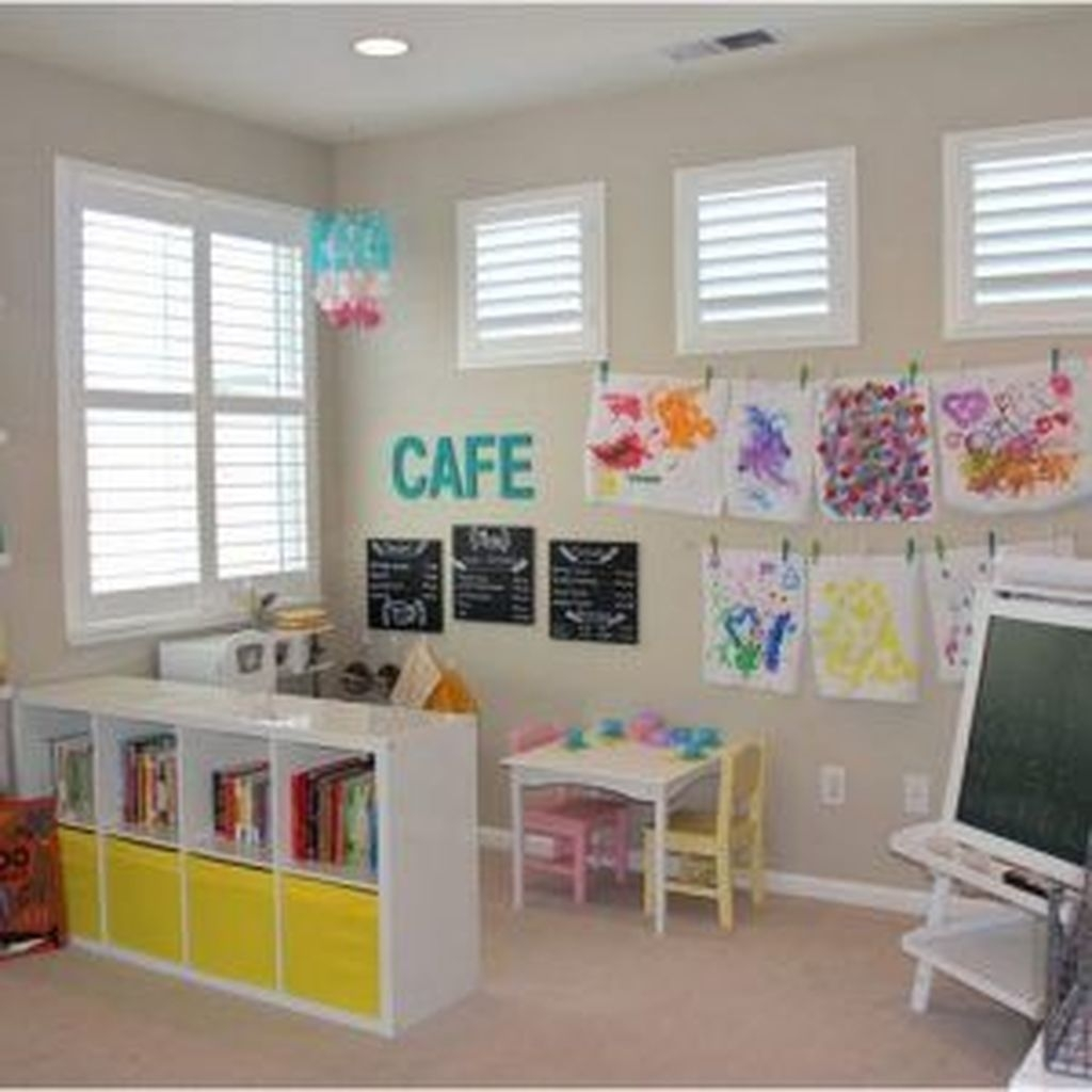 Pretty Playroom Design Ideas For Childrens 41