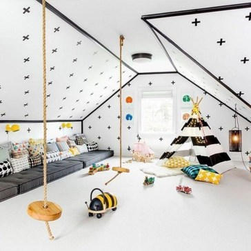 Pretty Playroom Design Ideas For Childrens 50