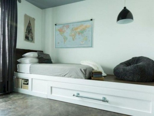 Spectacular Diy Bed Design Ideas That Suitable For Small Space 20