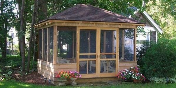 Stylish Gazebo Design Ideas For Your Backyard 18