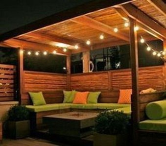 Stylish Gazebo Design Ideas For Your Backyard 33