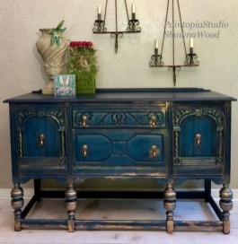 Awesome Dining Room Buffet Table Décor Ideas36