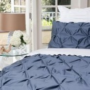 Beautiful Navy Blue And Coral Bedroom Decor36