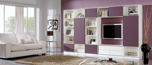 Gorgeous Cabinet Design Ideas For Small Living Room22