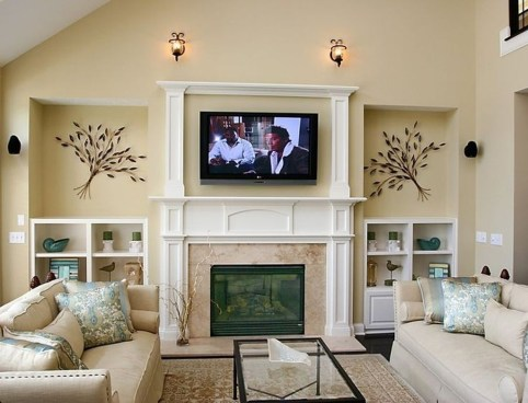 Gorgeous Cabinet Design Ideas For Small Living Room29