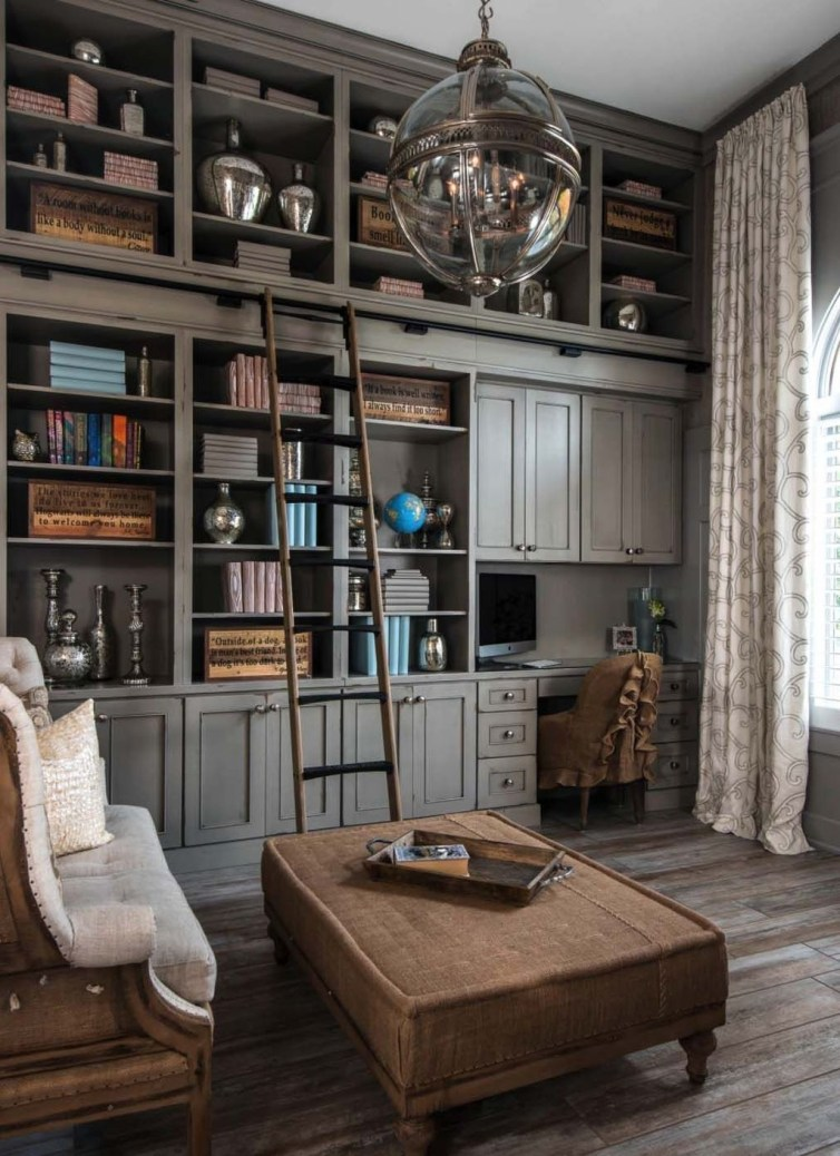 Gorgeous Cabinet Design Ideas For Small Living Room36