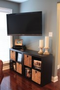 Gorgeous Cabinet Design Ideas For Small Living Room37