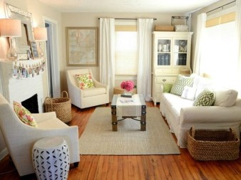 Gorgeous Cabinet Design Ideas For Small Living Room42
