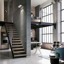Adorable Loft Apartment Decor Ideas05