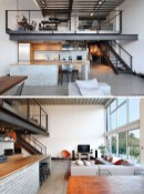 Adorable Loft Apartment Decor Ideas10