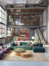 Adorable Loft Apartment Decor Ideas13