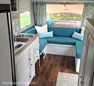 Adorable Vintage Travel Trailers Remodel Ideas15