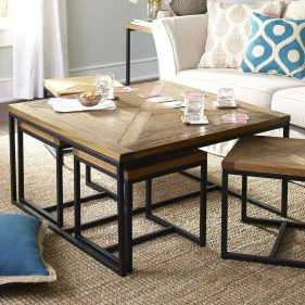 Awesome Glass Coffee Tables Ideas For Small Living Room Design36