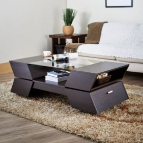 Awesome Glass Coffee Tables Ideas For Small Living Room Design39