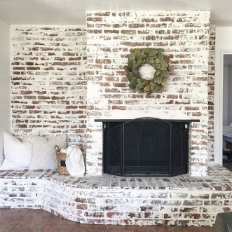Awesome Living Room Design Ideas With Farmhouse Style15