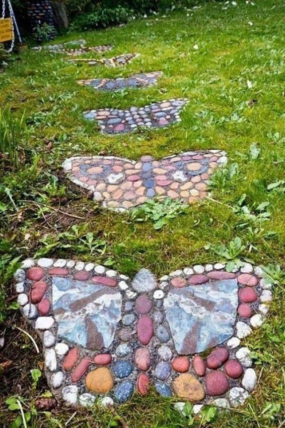 Creative Rock Garden Ideas For Your Backyard14