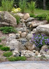 Creative Rock Garden Ideas For Your Backyard20