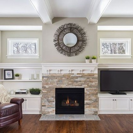 Impressive Living Room Ideas With Fireplace And Tv21