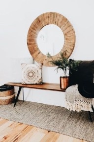 Best Ways To Decorate Your Circle Mirror With Garland26