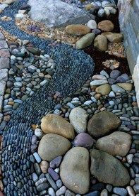 Cool Front Yard Rock Garden Ideas28