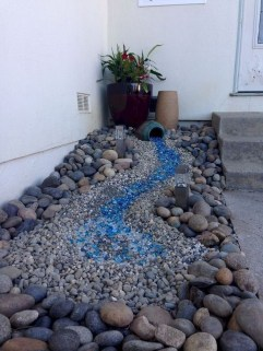 Cool Front Yard Rock Garden Ideas33