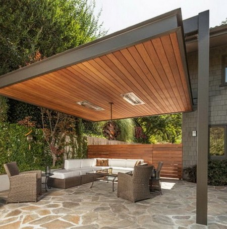 Modern Fresh Backyard Patio Ideas28