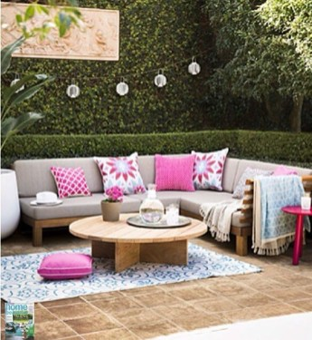 Perfect Diy Seating Incorporating Into Wall For Your Outdoor Space10