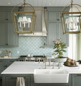 Popular Summer Kitchen Backsplash Ideas06