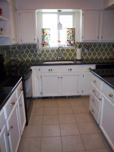 Popular Summer Kitchen Backsplash Ideas07