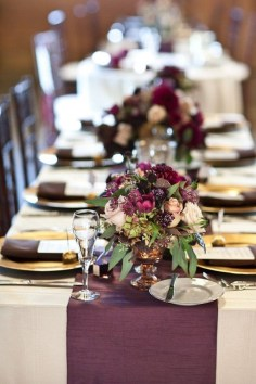 Unique Fall Wedding Decor On A Budget34
