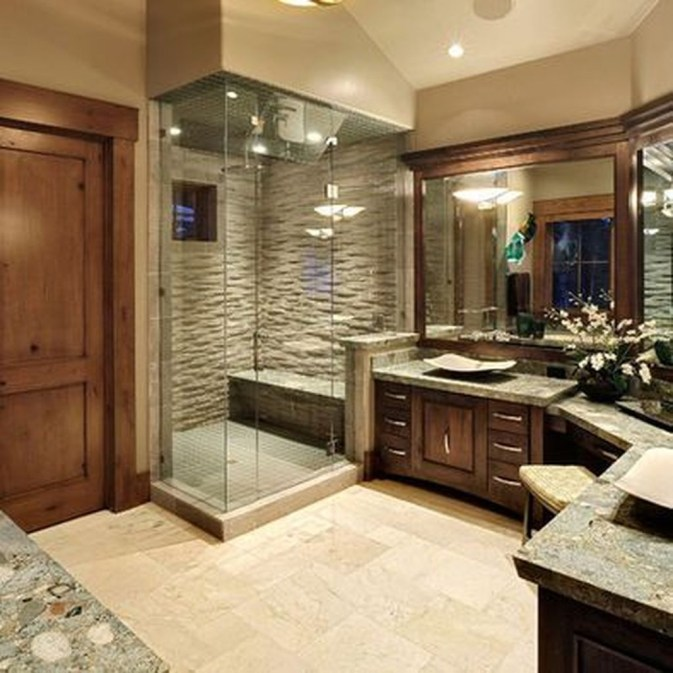 Inspiring Master Bathroom Decor And Design Ideas46