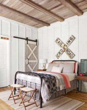 Marvelous Farmhouse Bedroom For Your House Design Ideas21