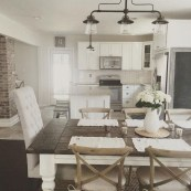 Perfect Farmhouse Dining Room Makeover Ideas10