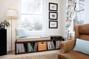 Stunning Window Seat Ideas With Padded Seat And Storage Below29