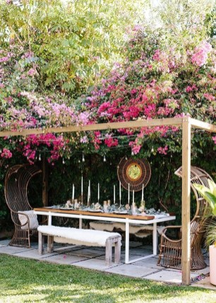 Stylish Backyard Landscaping Ideas For Your Dream House46