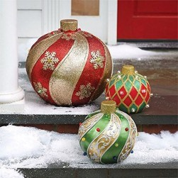 Attractive Front Yard Christmas Decoration Ideas30