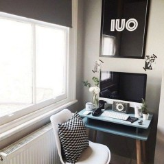 Comfy Home Office Design Ideas For Small Apartment01