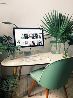 Comfy Home Office Design Ideas For Small Apartment27
