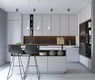 Cozy Small Modern Kitchen Design Ideas48