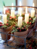 Cute Vintage Winter Table Decoration Ideas02