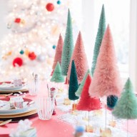 Cute Vintage Winter Table Decoration Ideas03
