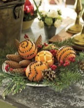 Cute Vintage Winter Table Decoration Ideas08