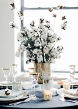 Cute Vintage Winter Table Decoration Ideas09