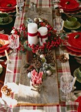 Cute Vintage Winter Table Decoration Ideas14