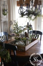 Cute Vintage Winter Table Decoration Ideas15